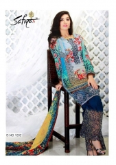 SAFIYA JAZMIN GLACE COTTON SUITS EXPORTER ONLINE WHOLESALE BEST RATE BY GOSIYA EXPORTS SURAT