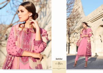 SAHIBA ABIR LAWN COTTON SALWAR KAMEEZ WHOLESALE RATE AT SURAT GOSIYA EXPORTS WHOLESALE DEALER AND SUPPLAYER SURAT GUJARAT (7)