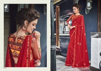 SAHIBA ANAYA FANCY EMBROIDERED SAREES WHOLESALE DEALER SURAT BEST RATE BY GOSIYA EXPORTS (1)
