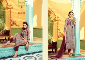 SAHIBA BY ANISHA CATALOG HEAVY COTTON DIGITAL PRINT EMBROIDERY SALWAR KAMEEZ SAHIBA WHOLESALE BEST RATE (12)