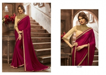 SAHIBA KINNARY FANCY DESIGNER SAREE WHOLESALE (6)