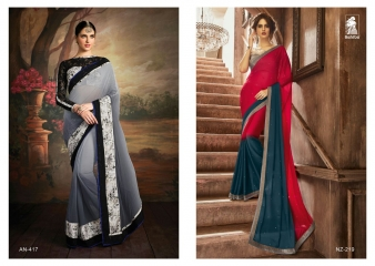 SAHIBA KINNARY FANCY DESIGNER SAREE WHOLESALE (9)