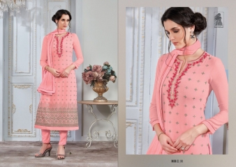 SAHIBA NOUR VO 9 GEORGETTE EMBROIDERY SUITS WHOLESALE BY GOSIYA EXPORTS SURAT (1)
