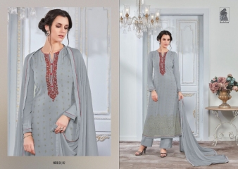 SAHIBA NOUR VO 9 GEORGETTE EMBROIDERY SUITS WHOLESALE BY GOSIYA EXPORTS SURAT (2)