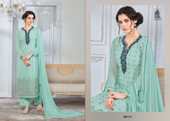SAHIBA NOUR VO 9 GEORGETTE EMBROIDERY SUITS WHOLESALE BY GOSIYA EXPORTS SURAT (3)