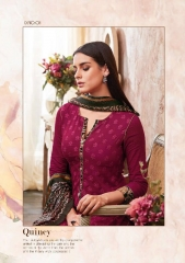 SAHIBA QUINCY COTTON SATIN SALWAR KAMEEZ WHOLESALE SURAT BY GOSIYA EXPORTS SURAT