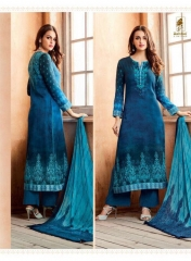 SAHIBA SIYARA LAWN COTTON SALWAR SUIT CATALOG WHOLESALE SUPPLIER AT BEST RATE BY GOSIYA EXPORTS SURAT