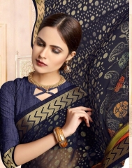 SAIANSH HASEENA CATALOGUE KHUSHI BRASSO CASUAL WEAR SAREES COLLECTION DEALER BEST RATE BY GOSIYA EXPORTS SURAT (1)