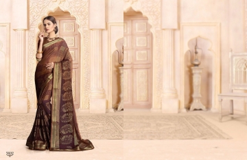 SAIANSH HASEENA CATALOGUE KHUSHI BRASSO CASUAL WEAR SAREES COLLECTION DEALER BEST RATE BY GOSIYA EXPORTS SURAT (7)