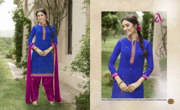 SAINA PATIYALA BY ANGROOP PLUS COTTON CAMBRIC CASUAL WEAR SALWAR KAMEEZ WHOLESALE BEST ARET BY GOSIYA EXPORST SURAT (1)