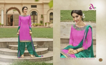 SAINA PATIYALA BY ANGROOP PLUS COTTON CAMBRIC CASUAL WEAR SALWAR KAMEEZ WHOLESALE BEST ARET BY GOSIYA EXPORST SURAT (16)