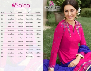 SAINA PATIYALA BY ANGROOP PLUS COTTON CAMBRIC CASUAL WEAR SALWAR KAMEEZ WHOLESALE BEST ARET BY GOSIYA EXPORST SURAT (17)
