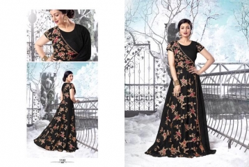 Sajawat-Aayesha-Gold-1101B-Bollywood-Designer-partywear-Floorlength-Wholesale-Anarkali