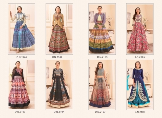 SAJAWAT CREATION GAUHAR VOL 1 CROP TOP READY MADE CATALOG BEST RATE (13)