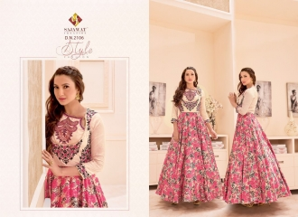 SAJAWAT CREATION GAUHAR VOL 1 CROP TOP READY MADE CATALOG BEST RATE (2)