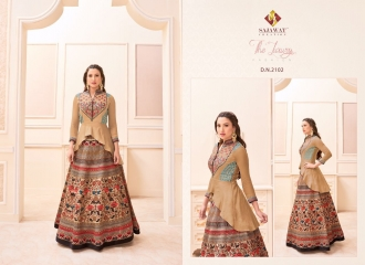 SAJAWAT CREATION GAUHAR VOL 1 CROP TOP READY MADE CATALOG BEST RATE (3)