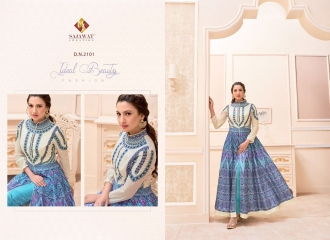 SAJAWAT CREATION GAUHAR VOL 1 CROP TOP READY MADE CATALOG BEST RATE (4)