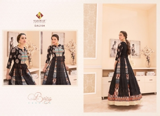 SAJAWAT CREATION GAUHAR VOL 1 CROP TOP READY MADE CATALOG BEST RATE (7)