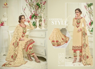 SAJAWAT CREATION SF VOL 4 CATALOGUE GEORGETTE STRAIGHT PARTY WEAR SALWAR (5)