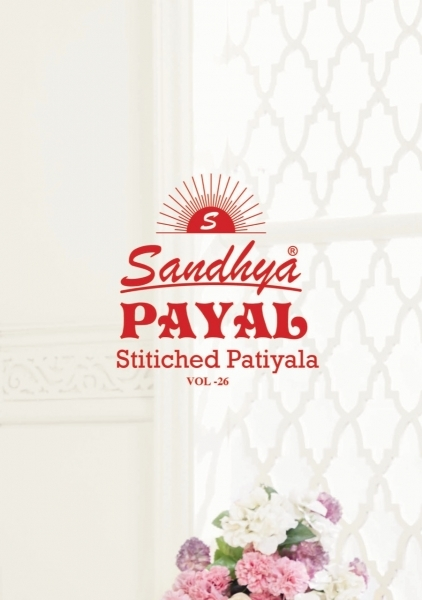 SANDHYA PRESENTS PAYAL UNSTITCHED VOL 26  (8)