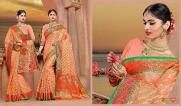 Sangam-Kundan-Silk-Saree-Online-Wholesalw-Supplier-8