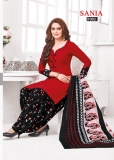 SANIA PLATINUM BLACK AND RED (3)