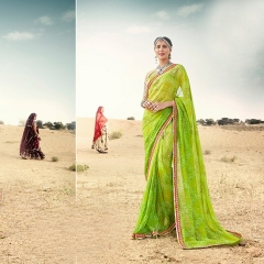 SANSKAR BANDHANI COLLECTION PANIHARI EXCLUSIVE BANDHANI SAREE CATALOG WHOLESAEL BEST RATE BY GOSIYA EXPORTS (4)