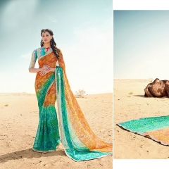 SANSKAR BANDHANI COLLECTION PANIHARI EXCLUSIVE BANDHANI SAREE CATALOG WHOLESAEL BEST RATE BY GOSIYA EXPORTS (5)