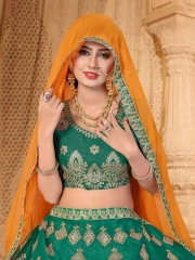 SANSKAR STYLE MANTHAN CATALOG FANCY KASHMIRI WORK NETT LEHENGA WHOLESALER BEST RATE BY GOSIYA EXPORTS SURAT (10)
