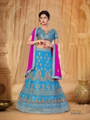 SANSKAR STYLE MANTHAN CATALOG FANCY KASHMIRI WORK NETT LEHENGA WHOLESALER BEST RATE BY GOSIYA EXPORTS SURAT (3)