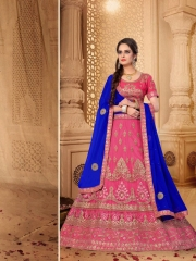 SANSKAR STYLE MANTHAN CATALOG FANCY KASHMIRI WORK NETT LEHENGA WHOLESALER BEST RATE BY GOSIYA EXPORTS SURAT (4)