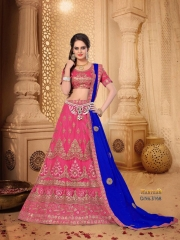 SANSKAR STYLE MANTHAN CATALOG FANCY KASHMIRI WORK NETT LEHENGA WHOLESALER BEST RATE BY GOSIYA EXPORTS SURAT (6)