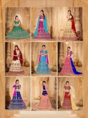 SANSKAR STYLE MANTHAN CATALOG FANCY KASHMIRI WORK NETT LEHENGA WHOLESALER BEST RATE BY GOSIYA EXPORTS SURAT (8)