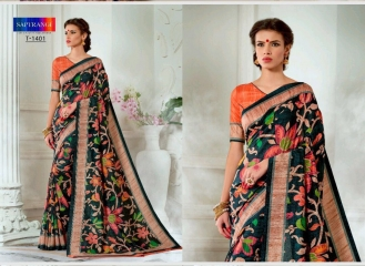 SAPTRANGI DIGITAL PRINT TUSSER SILK SIGNATURE SAREES COLLECTION (12)