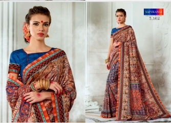 SAPTRANGI DIGITAL PRINT TUSSER SILK SIGNATURE SAREES COLLECTION (3)