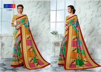 SAPTRANGI DIGITAL PRINT TUSSER SILK SIGNATURE SAREES COLLECTION (5)