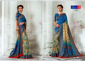 SAPTRANGI DIGITAL PRINT TUSSER SILK SIGNATURE SAREES COLLECTION (7)