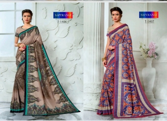 SAPTRANGI DIGITAL PRINT TUSSER SILK SIGNATURE SAREES COLLECTION (8)
