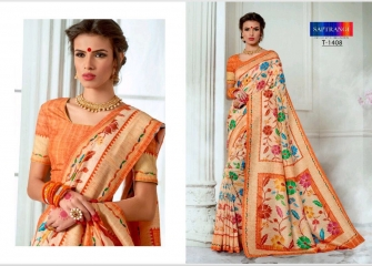 SAPTRANGI DIGITAL PRINT TUSSER SILK SIGNATURE SAREES COLLECTION (9)