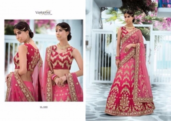 SAPTRANGI VASTREENI PURE HERITAGE SILK PRINTS WITH WORK WEDDING LEHENGA COLLECTION (3)