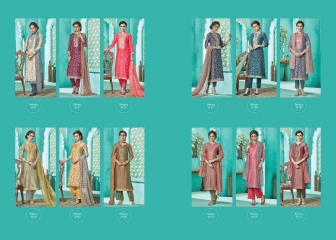 Sarg belsera chanderi digital print dresses catalogue BY GOSIYA EXPORTS (2)