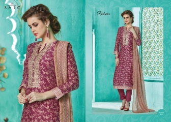 Sarg belsera chanderi digital print dresses catalogue BY GOSIYA EXPORTS (4)