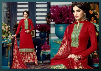SARGAM PRINTS ANOKHI PURE PASHMINA PRINTS SALWAR KAMEEZ WHOLESALE BEST RATE BY GOSIYA EXPORTS SURAT (11)