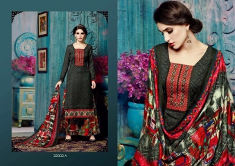 SARGAM PRINTS ANOKHI PURE PASHMINA PRINTS SALWAR KAMEEZ WHOLESALE BEST RATE BY GOSIYA EXPORTS SURAT (3)