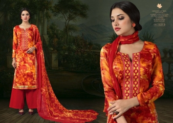 SARGAM PRINTS BY CHAHAT JAM SILK EMBROIDERED SALWAR KAMEEZ WHOLESALE BEST RATE (2)
