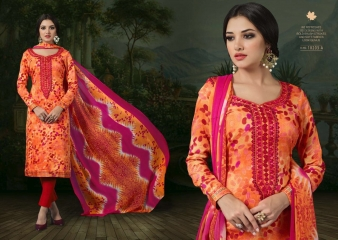 SARGAM PRINTS BY CHAHAT JAM SILK EMBROIDERED SALWAR KAMEEZ WHOLESALE BEST RATE (5)
