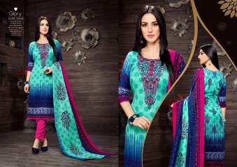 SARGAM PRINTS SHEHNAZ CATALOGUE PASHMINA PRINT WITH NECK EMBROIDERED WINTER WEAR (10)