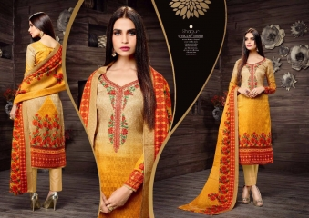 SARGAM PRINTS SHEHNAZ CATALOGUE PASHMINA PRINT WITH NECK EMBROIDERED WINTER WEAR (2)