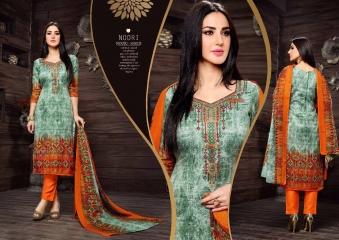 SARGAM PRINTS SHEHNAZ CATALOGUE PASHMINA PRINT WITH NECK EMBROIDERED WINTER WEAR (4)