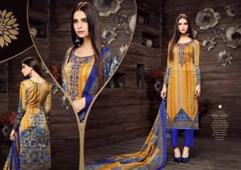 SARGAM PRINTS SHEHNAZ CATALOGUE PASHMINA PRINT WITH NECK EMBROIDERED WINTER WEAR (8)